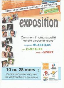 """Exposition """"Quand le regard des autres fait la différence"""" @ Médiathèque de Villefranche de Rouergue   Villefranche-de-Rouergue   Occitanie   France"""