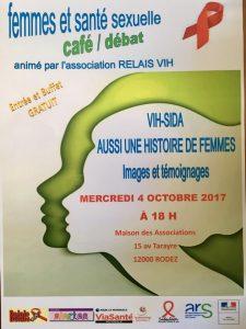 Femmes et santé sexuelle : VIH/sida, aussi une histoire de femmes, un café/débat @ Maison des Associations, rez de chaussé   Rodez   Occitanie   France